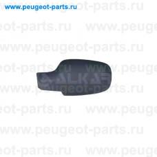 6341228, Alkar, Крышка зеркала левого (под покраску) для Renault Megane II