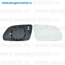 6412111, Alkar, Стекло зеркала правого для Skoda Octavia, VW Polo