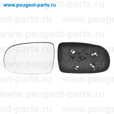 6423420, Alkar, Стекло зеркала левого для Opel Corsa C
