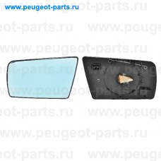 6423539, Alkar, Стекло зеркала левого для Mercedes W210, Mercedes W202, Mercedes W140