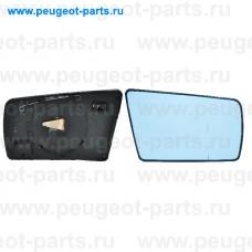 6424539, Alkar, Стекло зеркала правого для Mercedes W210, Mercedes W202, Mercedes W140