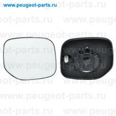 6425974, Alkar, Стекло зеркала левого для Peugeot Parner (M59), Citroen Berlingo (M59)