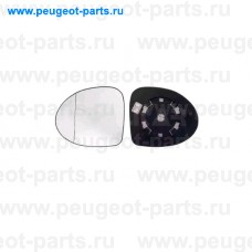 6471171, Alkar, Стекло зеркала левого для Renault Symbol