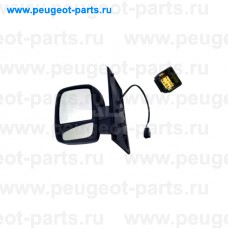 9255955, Alkar, Зеркало левое электрическое для Fiat Scudo, Peugeot Expert 3, Citroen Jumpy III, Citroen Jumpy 3
