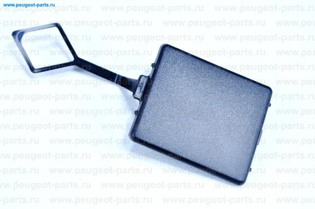 Заглушка бампера заднего PSA C4 седан