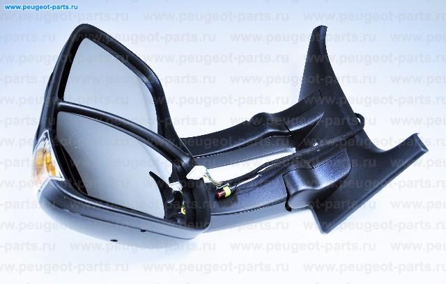 Зеркало левое электрическое Iveco Daily 3 06-> (черное)