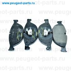 2504501, Textar, Колодки тормозные передние для BMW F10, BMW F11, BMW F01, BMW F02