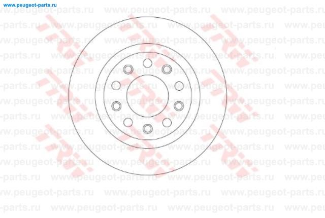 Диск тормозной задний AR Giulietta