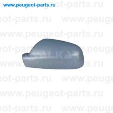 6342307, Alkar, Крышка зеркала правого (под покраску) для Peugeot 307, Peugeot 407, Citroen Xsara 2