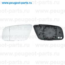 6401797, Alkar, Стекло зеркала левого для Audi A6