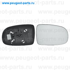 6402420, Alkar, Стекло зеркала правого для Opel Corsa C