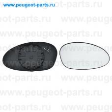 6412541, Alkar, Стекло зеркала правого для BMW E90, BMW E91, BMW E82, BMW E87, BMW E81