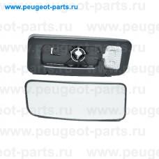 6415994, Alkar, Стекло зеркала левого (нижний элемент) для Mercedes Sprinter, VW Crafter