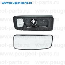 6416994, Alkar, Стекло зеркала правого для VW Crafter, Mercedes Sprinter