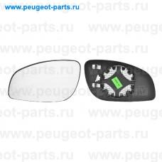 6431444, Alkar, Стекло зеркала левого для Opel Vectra C, Opel Signum
