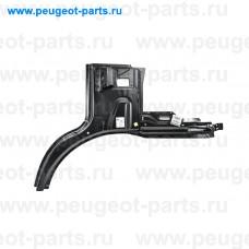 1611663780, Citroen/Peugeot, Панель крыла переднего левого внутренняя для Fiat Ducato 250, Citroen Jumper 3, Peugeot Boxer 3