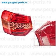 6351EW-SALE, Citroen/Peugeot, Фонарь задний наружный PSA C5 (X7) седан левый (С ДЕФЕКТОМ)