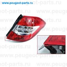 6351KS-SALE, Citroen/Peugeot, Фонарь задний наружный PSA C4 (B7) 5дв (С ДЕФЕКТОМ) правый