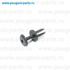 781329, Citroen/Peugeot, Клипса решетки радиатора для Fiat Ducato 250, Citroen Jumper 3, Peugeot Boxer 3