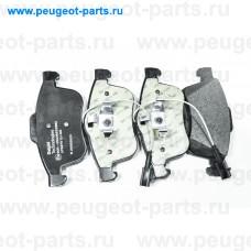 LP3270, Delphi, Колодки тормозные передние для Fiat Doblo, Lancia Delta, Opel Combo D
