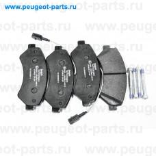 LP3623, Delphi, Колодки тормозные передние для Fiat Ducato 250, Peugeot Boxer 3, Citroen Jumper 3