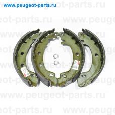 LS1724, Delphi, Колодки тормозные задние для Renault Megane 1