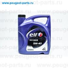 10170501, Elf, Масло моторное ELF EVOLUTION 900 SXR 5W40 4 литра