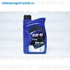 194875, Elf, Масло моторное ELF EVOLUTION 900 NF 5W40 1 литр