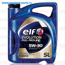194908, Elf, Масло моторное ELF EVOLUTION FULL TECH FE FE 5W30 5 литров