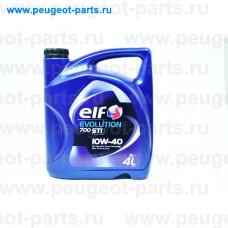201552, Elf, Масло моторное ELF EVOLUTION 700 STI 10W40 4 литра