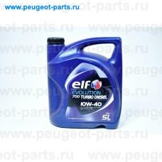 201553, Elf, Масло моторное ELF EVOLUTION 700 TD 10W40 5 литров