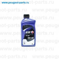 ELF EVOLUTION 900 NF 5w40-1, Elf, Масло моторное ELF EXCELLIUM NF 5W40 1 литр