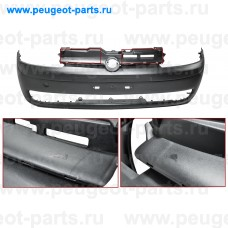 101.09.9102-SALE, EuroStamp, Бампер передний Opel Corsa C, Combo C  08/01->10/03 (под хром. накладки) (С ДЕФЕКТОМ)