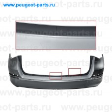 101.38.9624-SALE, EuroStamp, Бампер задний Opel Astra J  07/11->10/15 (универсал) (без парк, под покраску) (С ДЕФЕКТОМ)