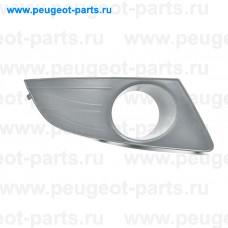 221.04.7220, EuroStamp, Решетка бампера переднего правая для Renault Logan 1