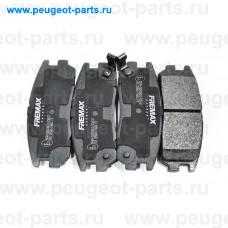 FBP-1207, Fremax, Колодки тормозные задние для Opel Frontera, Isuzu Trooper, Great Wall Hover H3, Great Wall Haval 5