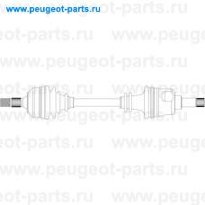CI3251, General Ricambi, Полуось PSA Partner, Berlingo, Xsara Picasso 1.6-1.8i 16V МКПП левая
