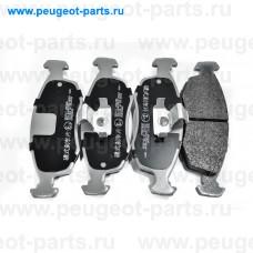 500017, Japko, Колодки тормозные передние для Fiat Punto, Fiat Doblo, Fiat Palio