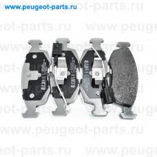 500094, Japko, Колодки тормозные передние для Fiat Punto, Fiat Panda, Fiat 500, Fiat Grande Punto