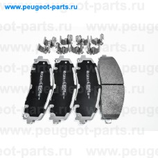 50918, Japko, Колодки тормозные передние для Fiat Freemont, Dodge Journey, Dodge Caravan, Chrysler Grand Voyager