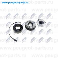 CCS-FT-001, NTY, Муфта компрессора кондиционера для Fiat Ducato 250, Peugeot Boxer 3, Fiat Ducato 244 RUS, Citroen Jumper 3