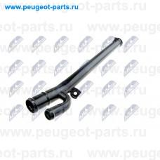 CPP-RE-006, NTY, Патрубок системы охлаждения для Renault Clio 2, Renault Kangoo 1, Lada Largus 1