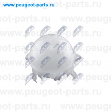 CZW-VW-002, NTY, Бачок расширительный для Audi A3, Audi Q3, Audi TT, VW Tiguan, VW Sharan, VW Passat, VW New Beetle, VW Caddy, VW Golf 5, VW Touran, VW Jetta, VW Scirocco, Skoda Yeti, Skoda Rapid, Skoda Superb