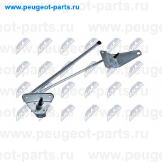 EMW-PE-001, NTY, Трапеция стеклоочистителя переднего (без мотора) для Peugeot Partner, Peugeot Parner (M59), Citroen Berlingo, Citroen Berlingo (M59)