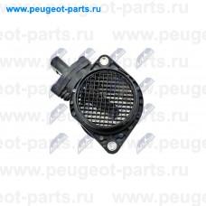 EPP-AU-014, NTY, Расходомер воздуха (ДМРВ) для VW Passat, Skoda Octavia, Audi A3, Audi A4, Audi A6, Audi A8, Audi A2, VW Golf