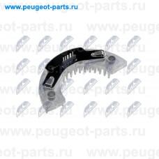 ERD-CT-013, NTY, Резистор отопителя (печки) для Peugeot 206, Citroen Xsara Picasso