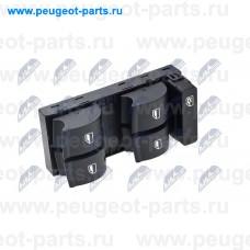 EWS-AU-000, NTY, Блок кнопок стеклоподъемника левый для Audi A4