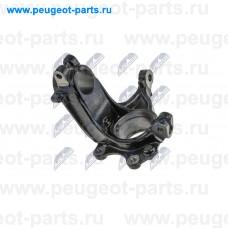 ZZP-CT-001, NTY, Кулак поворотный передний правый для Peugeot 207, Peugeot 301, Peugeot 208, Citroen C-Elysee