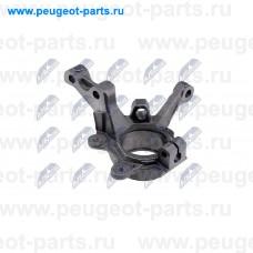 ZZP-RE-009, NTY, Кулак поворотный передний правый для Renault Megane 1, Renault Kangoo 1