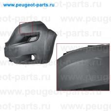 100.11158H-SALE, Poliplast, Бампер передний левая часть Ducato (250), PSA Boxer 3, Jumper 3  17-> Maxi R16 с п/т (С ДЕФЕКТОМ)